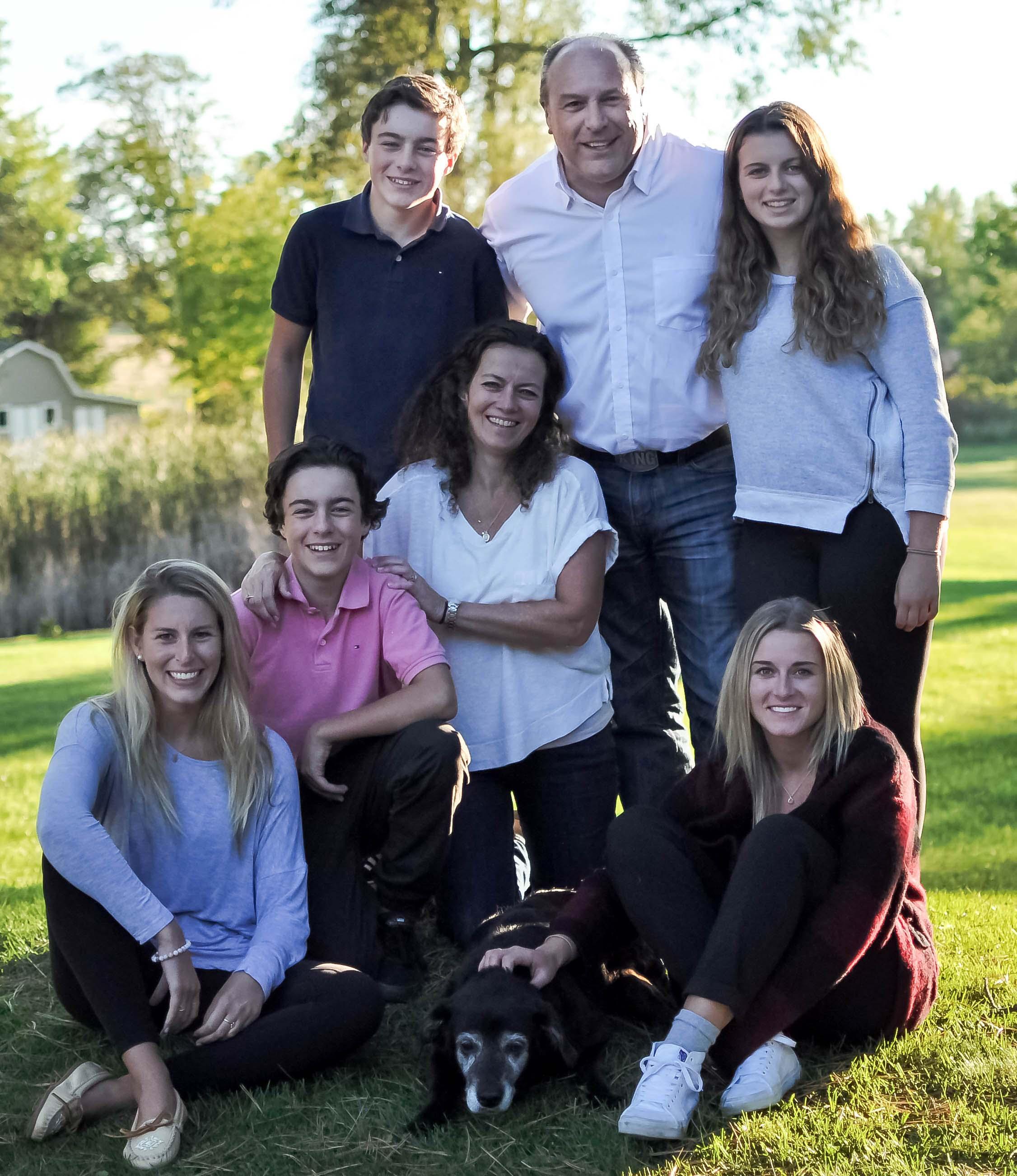 Mayor Steve Pellegrini and Family